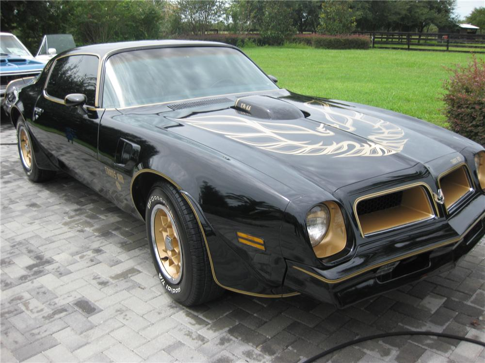 1976 PONTIAC FIREBIRD TRANS AM 50TH ANNIVERSARY COUPE 93456