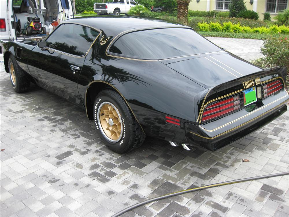 1976 PONTIAC FIREBIRD TRANS AM 50TH ANNIVERSARY COUPE - Rear 3/4 - 93456