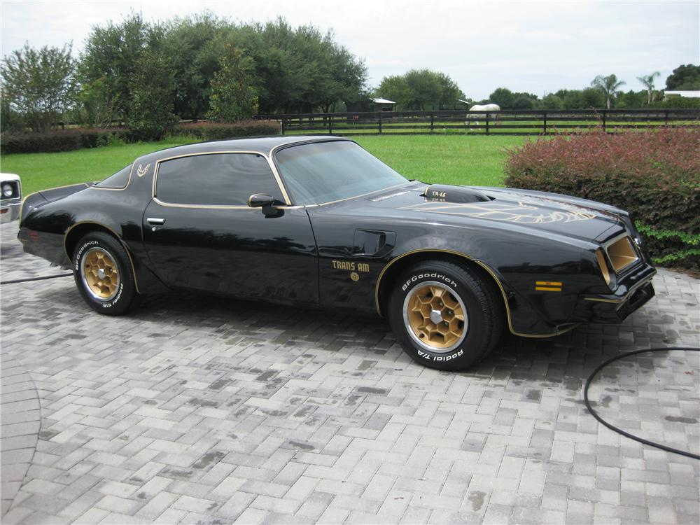 1976 PONTIAC FIREBIRD TRANS AM 50TH ANNIVERSARY COUPE - Side Profile - 93456