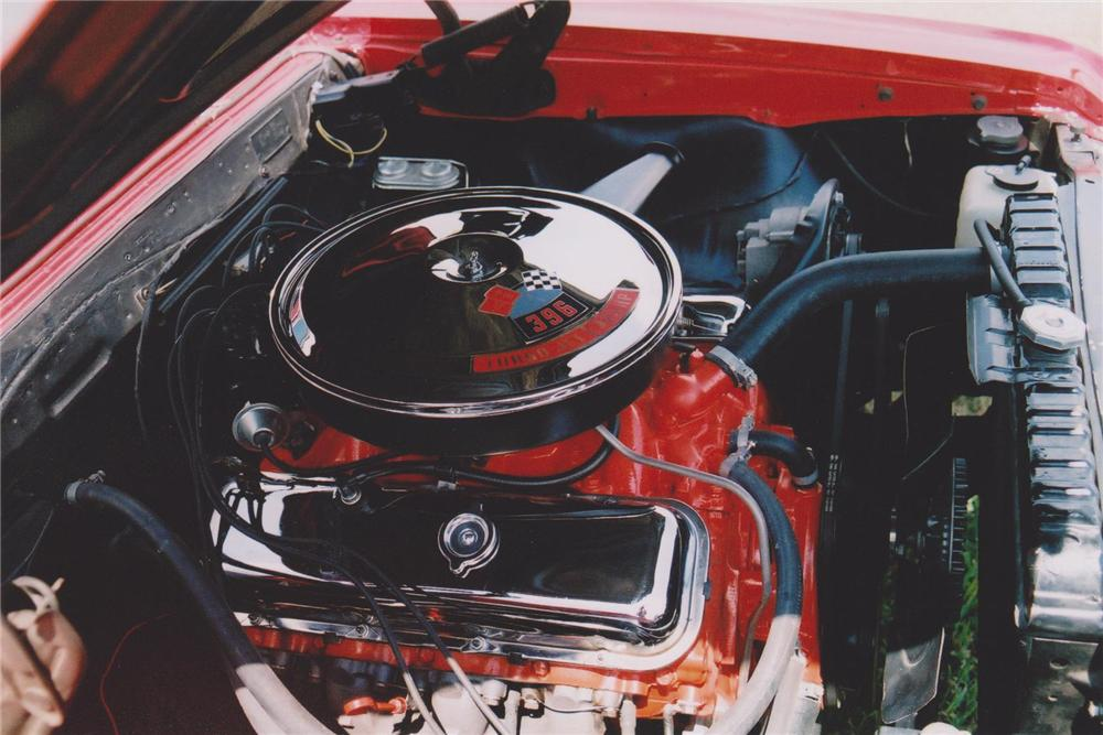 1967 CHEVROLET CHEVELLE SS 396 CONVERTIBLE - Engine - 93461