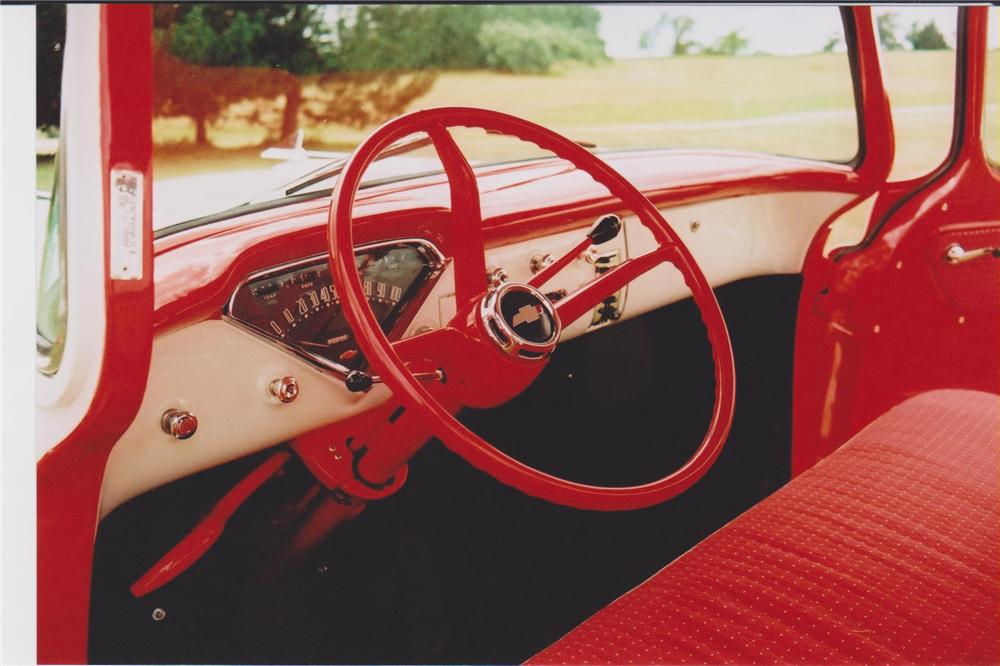 1957 CHEVROLET CAMEO PICKUP - Interior - 93462