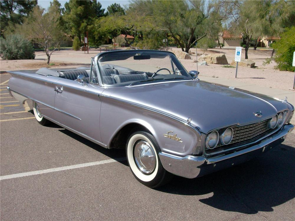 1960 Ford Galaxie Sunliner Convertible 93477