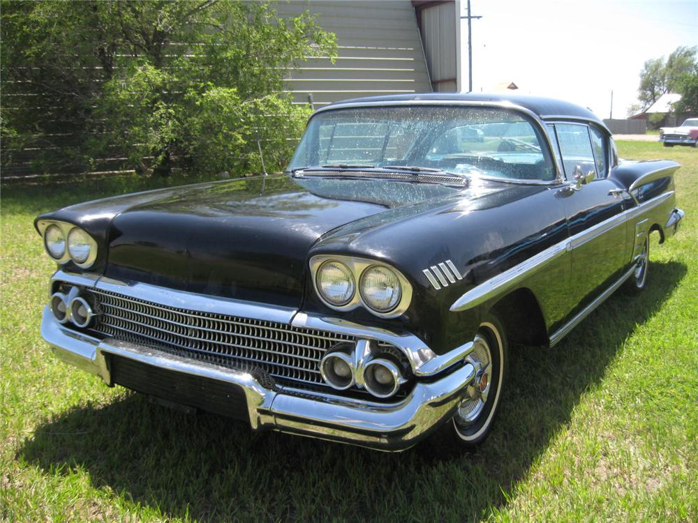 1958 CHEVROLET IMPALA 2 DOOR SPORT COUPE - Front 3/4 - 93484