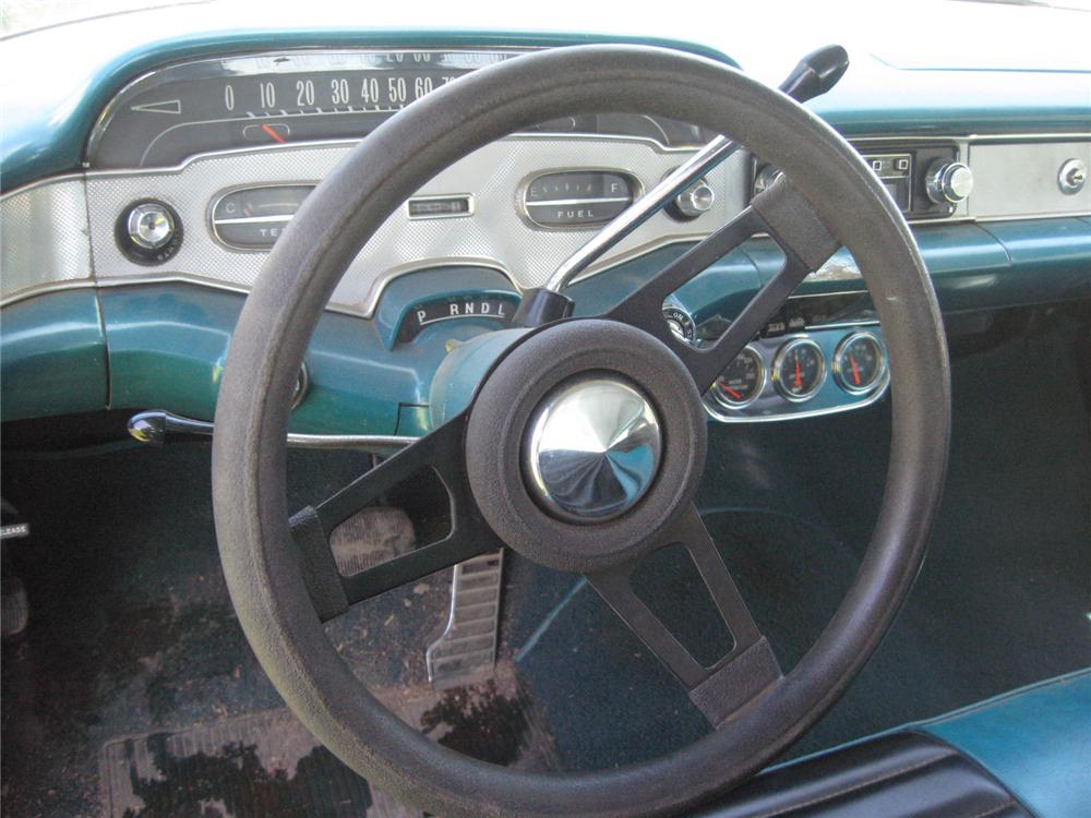 1958 CHEVROLET IMPALA 2 DOOR SPORT COUPE - Interior - 93484