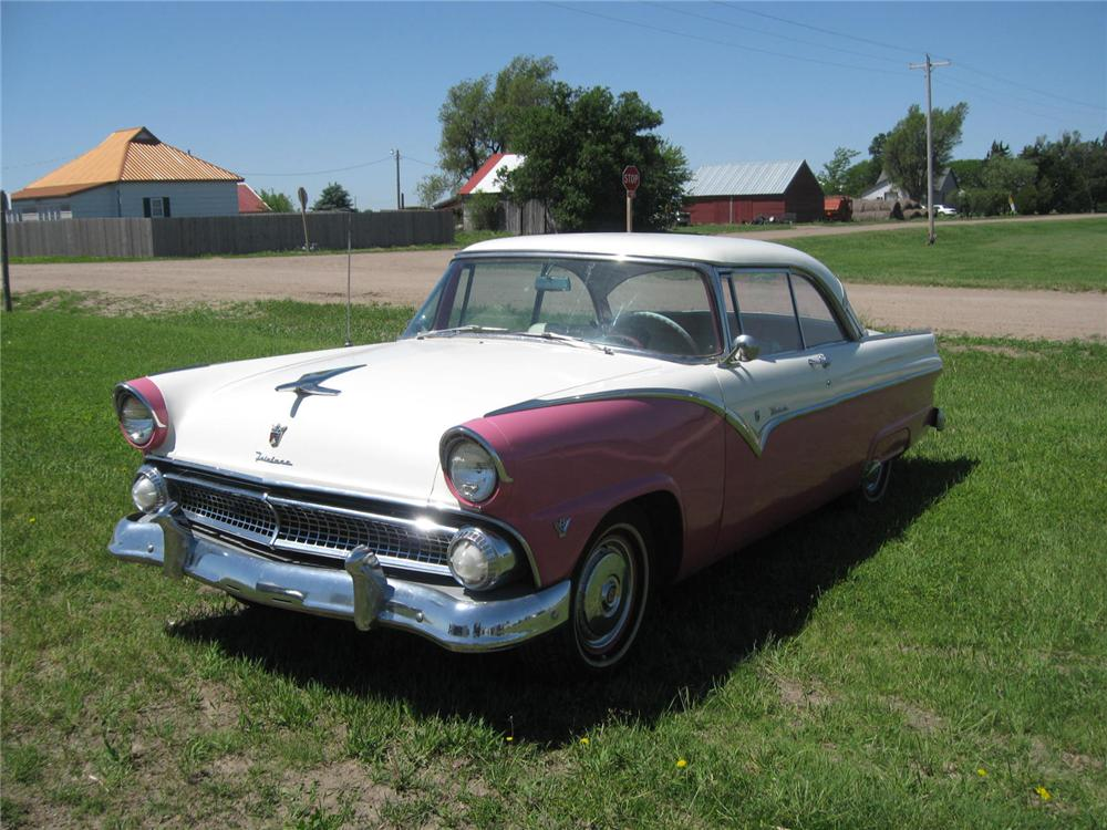 1955 ford fairlane victoria 2 door hardtop 93489