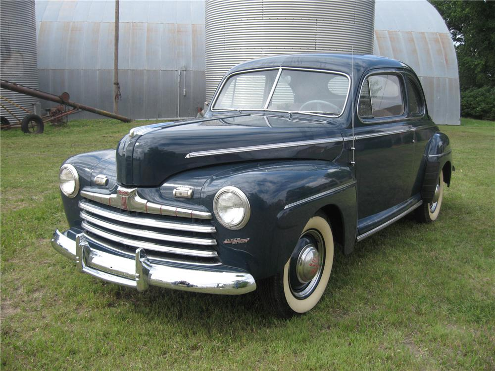 1947 FORD 2 DOOR COUPE - Front 3/4 - 93492
