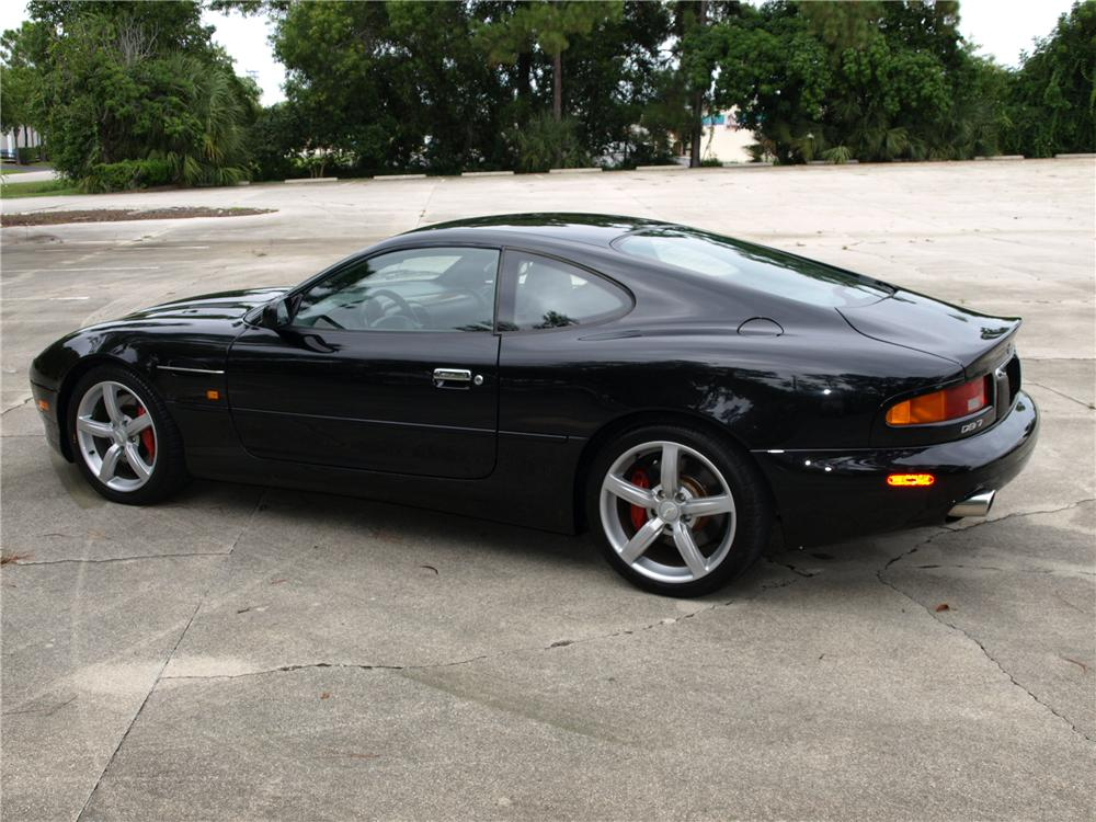 2003 ASTON MARTIN DB 7 GT COUPE - Rear 3/4 - 93497
