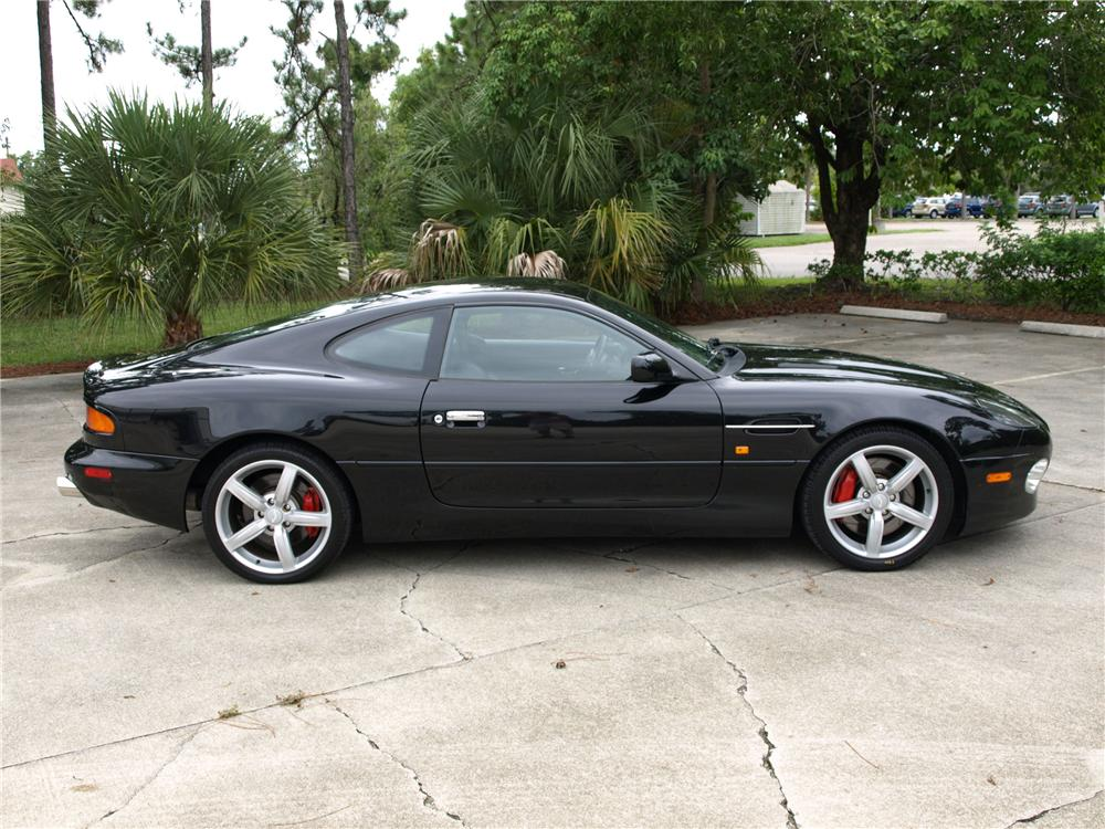 2003 ASTON MARTIN DB 7 GT COUPE - Side Profile - 93497