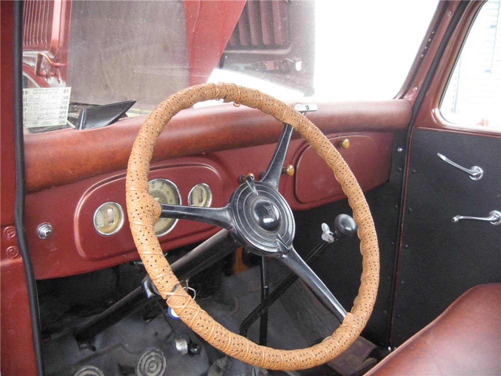 1936 FORD PICKUP - Interior - 93501