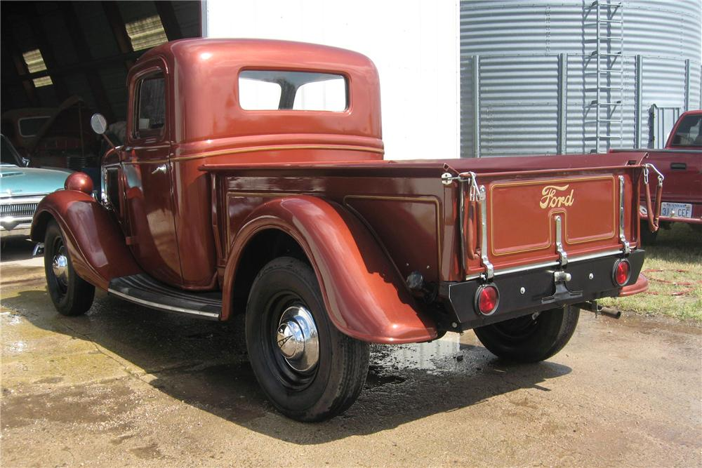 1936 FORD PICKUP - Rear 3/4 - 93501