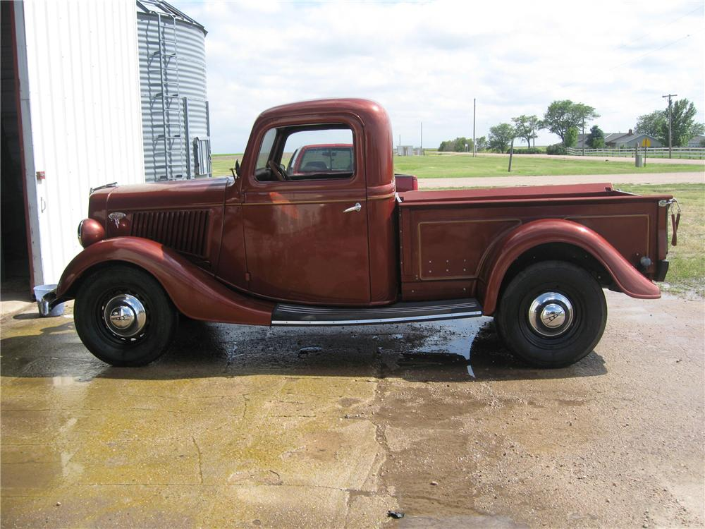 1936 FORD PICKUP - Side Profile - 93501