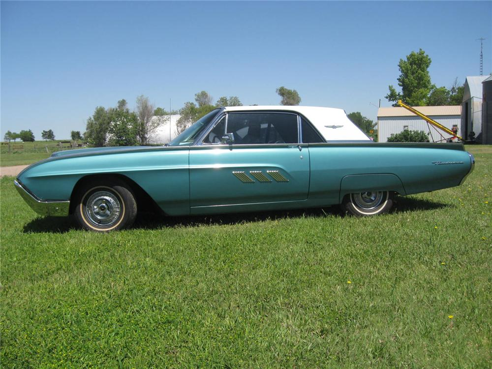 1963 FORD THUNDERBIRD 2 DOOR HARDTOP - Side Profile - 93502