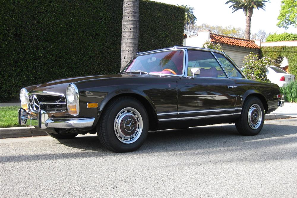 1969 MERCEDES-BENZ 280SL CUSTOM CONVERTIBLE - Front 3/4 - 93504