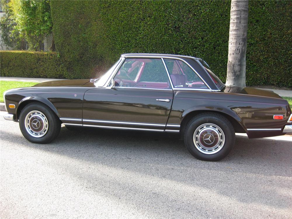 1969 MERCEDES-BENZ 280SL CUSTOM CONVERTIBLE - Side Profile - 93504