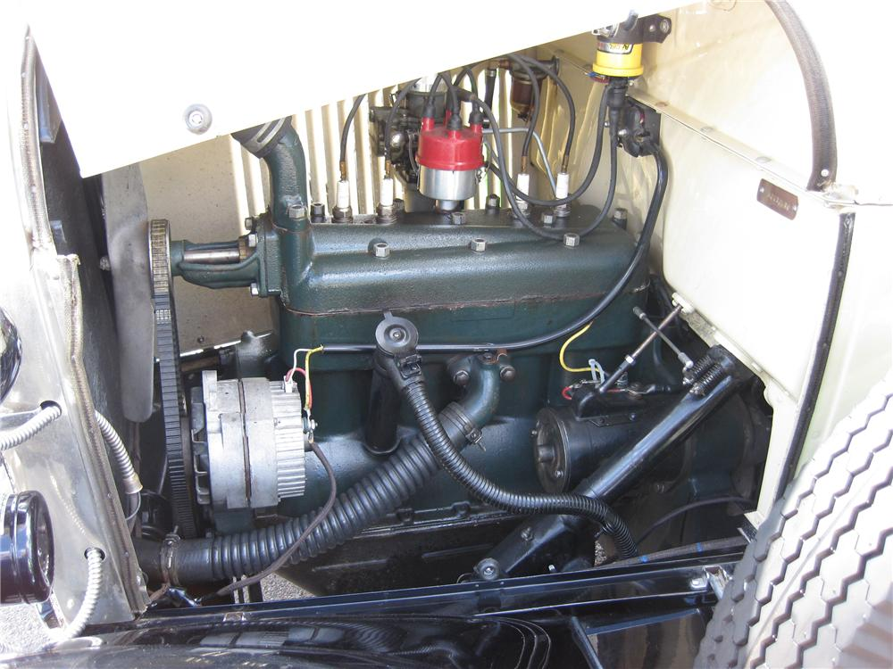 1929 FORD MODEL A ROADSTER - Engine - 93505