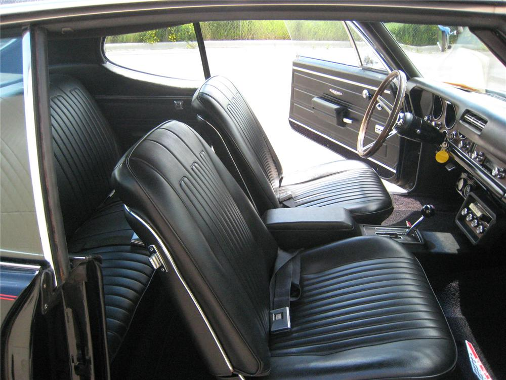 1968 PONTIAC GTO 2 DOOR COUPE - Interior - 93511