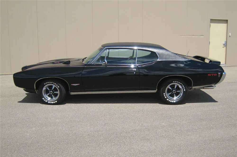 1968 PONTIAC GTO 2 DOOR COUPE - Side Profile - 93511