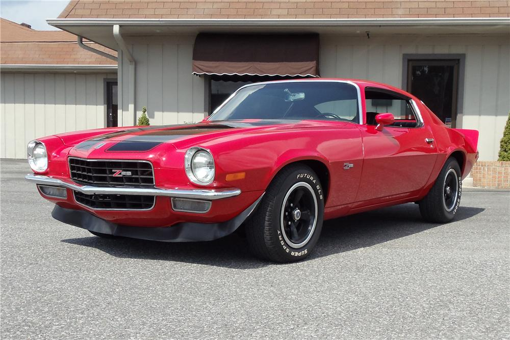 1973 CHEVROLET CAMARO Z/28 COUPE - Front 3/4 - 93523