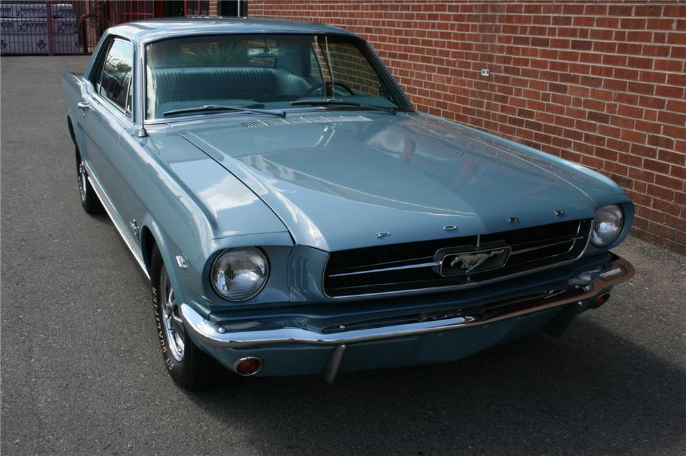 1965 FORD MUSTANG COUPE - Front 3/4 - 93541