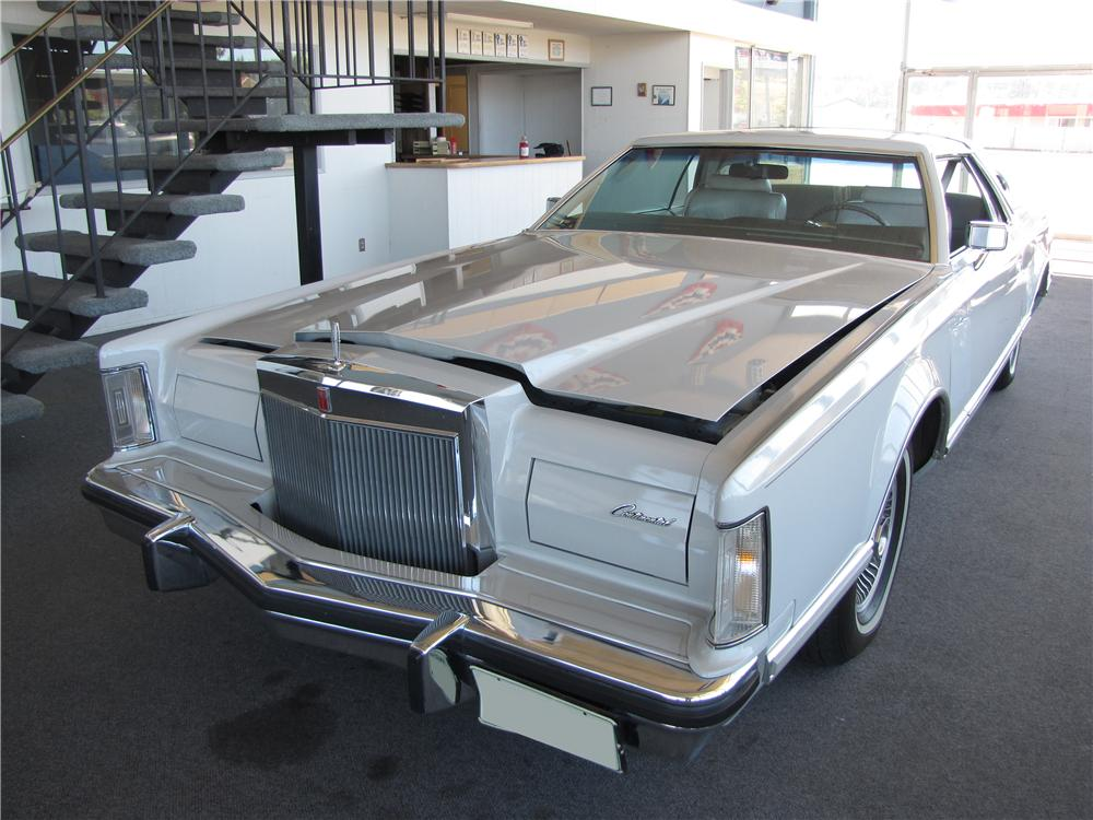 1977 LINCOLN CONTINENTAL MARK V 2 DOOR HARDTOP CARTIER EDITION - Front 3/4 - 93544