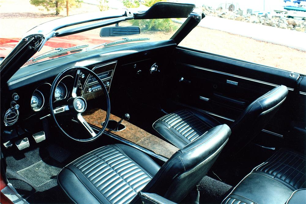 1968 PONTIAC FIREBIRD CONVERTIBLE - Interior - 93546