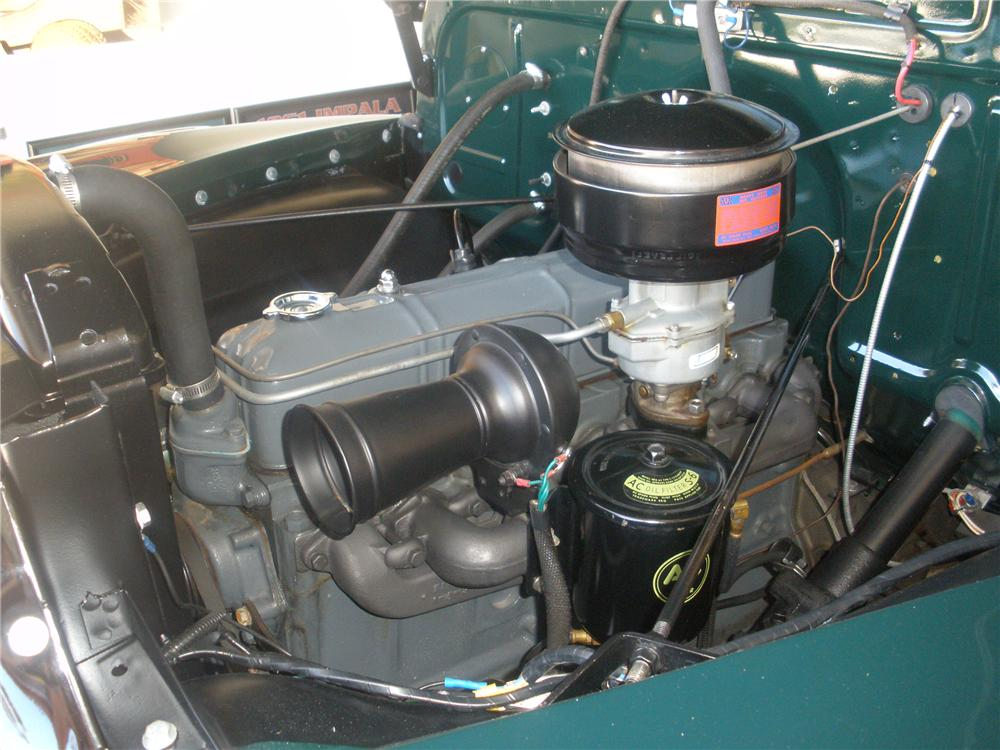 1950 CHEVROLET 3100 CANOPY EXPRESS - Engine - 93560
