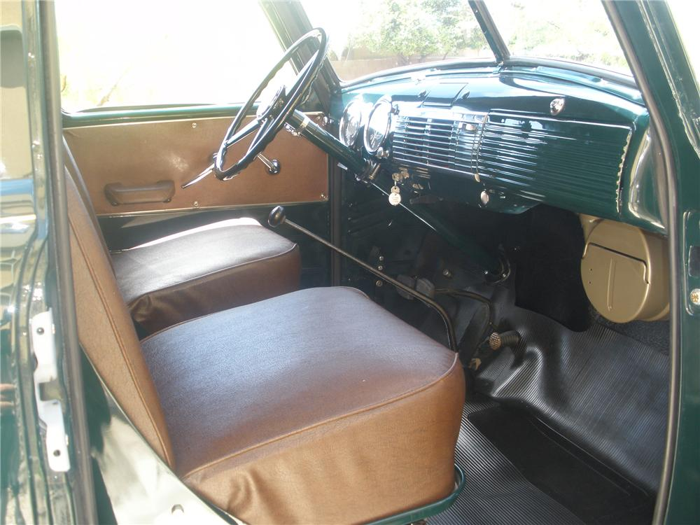 1950 CHEVROLET 3100 CANOPY EXPRESS - Interior - 93560
