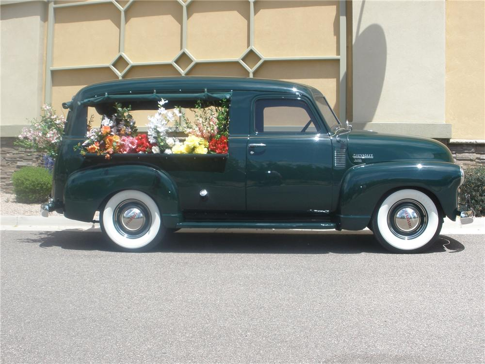 1950 CHEVROLET 3100 CANOPY EXPRESS - Side Profile - 93560