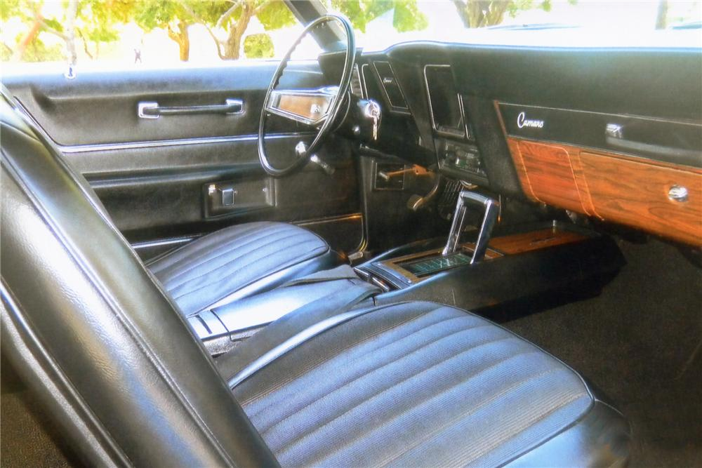1969 CHEVROLET CAMARO SS CUSTOM 2 DOOR COUPE - Interior - 93562