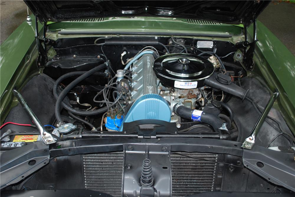 1968 PONTIAC FIREBIRD CONVERTIBLE - Engine - 93564