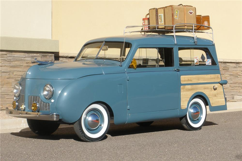 1948 CROSLEY CC WOODY WAGON - Front 3/4 - 93569