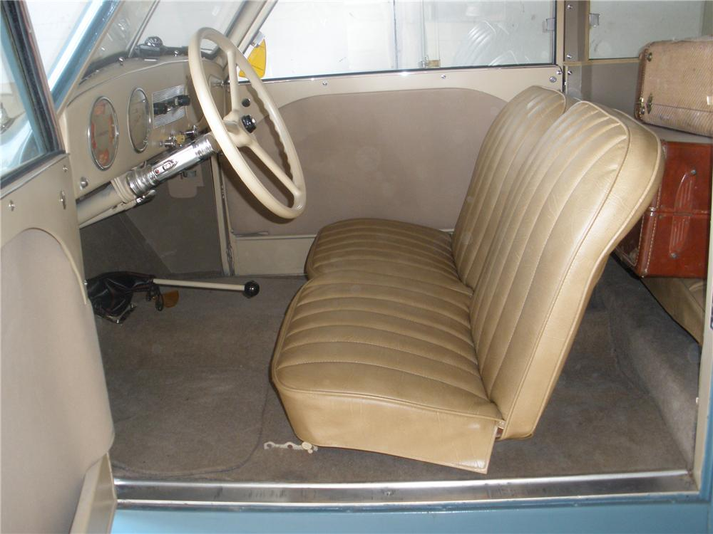 1948 CROSLEY CC WOODY WAGON - Interior - 93569