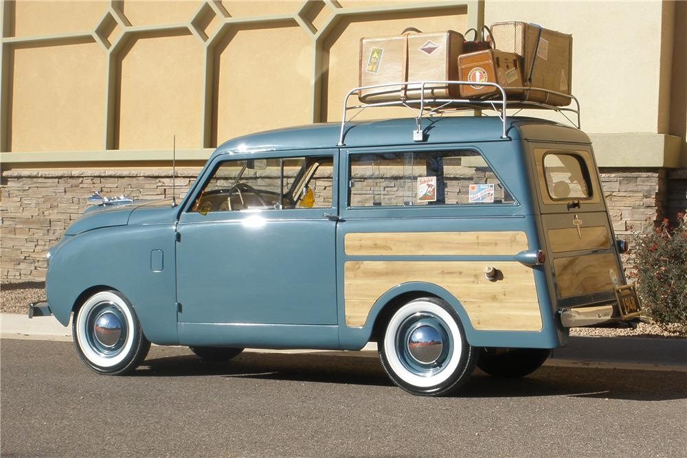 1948 CROSLEY CC WOODY WAGON - Side Profile - 93569