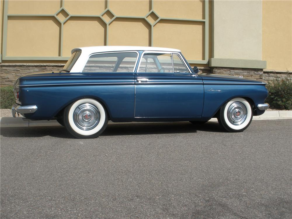 1963 RAMBLER AMERICAN 2 DOOR HARDTOP - Side Profile - 93572