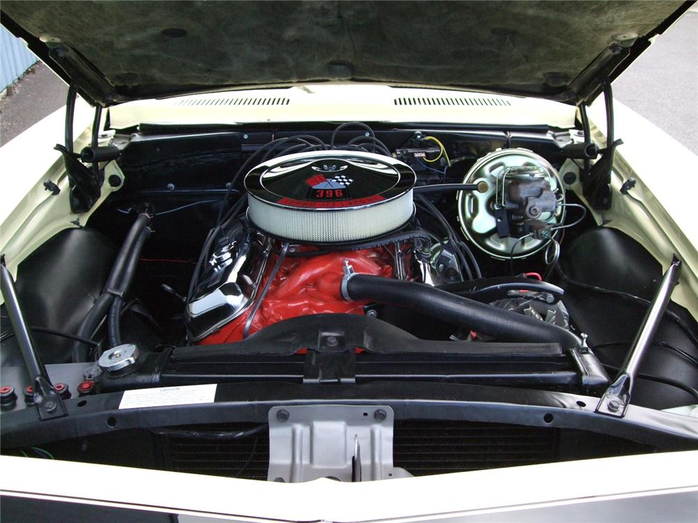 1967 CHEVROLET CAMARO RS/SS COUPE - Engine - 93576