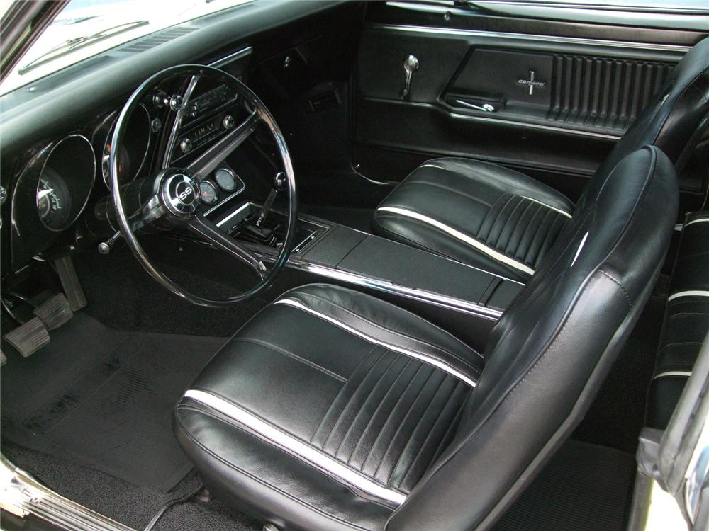 1967 CHEVROLET CAMARO RS/SS COUPE - Interior - 93576