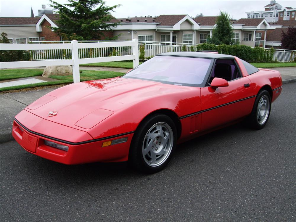1990 CHEVROLET CORVETTE ZR1 COUPE - Front 3/4 - 93577