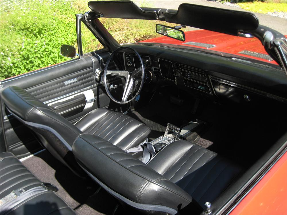 1968 CHEVROLET CHEVELLE SS 2 DOOR CONVERTIBLE - Interior - 93584