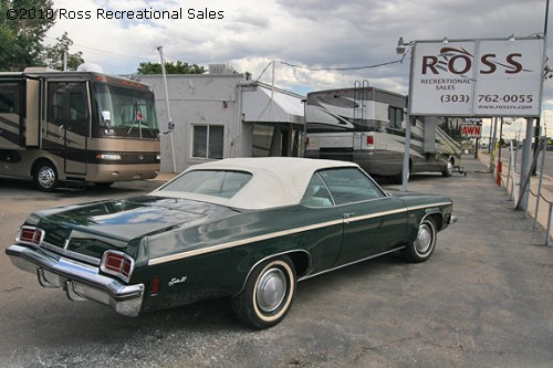1973 OLDSMOBILE DELTA 88 ROYALE CONVERTIBLE - Engine - 93588