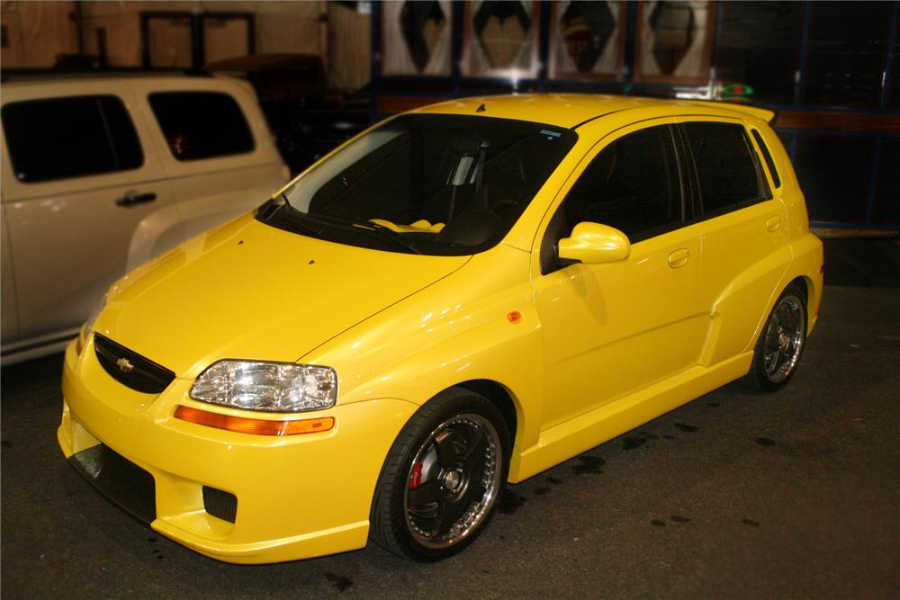 "2004 CHEVROLET AVEO ""X-TREME STREET EDITION"" - Front 3/4 - 93591"
