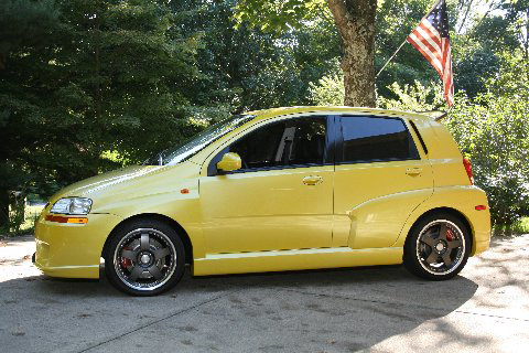 "2004 CHEVROLET AVEO ""X-TREME STREET EDITION"" - Side Profile - 93591"