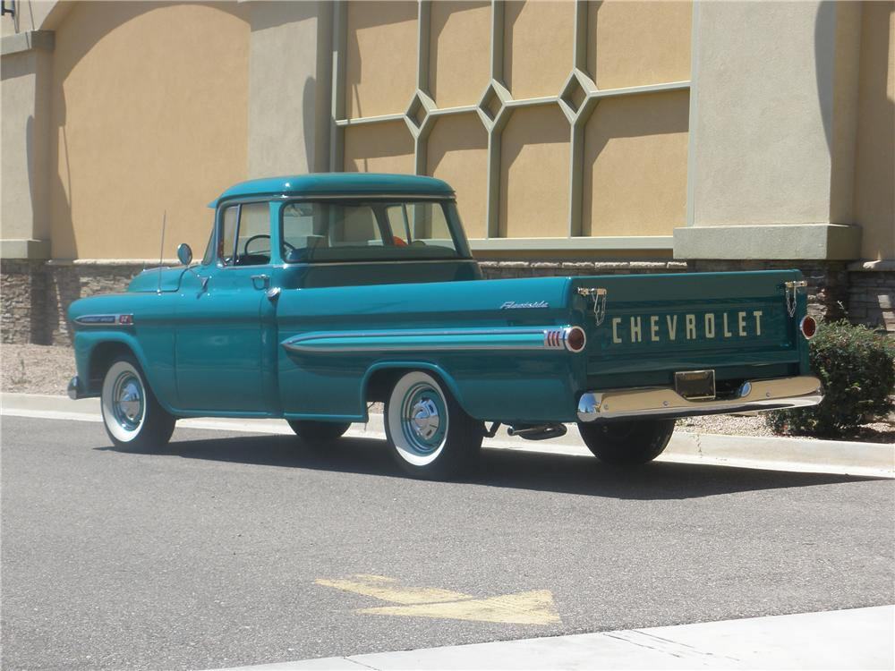 1959 CHEVROLET APACHE FLEETSIDE PICKUP - 93593