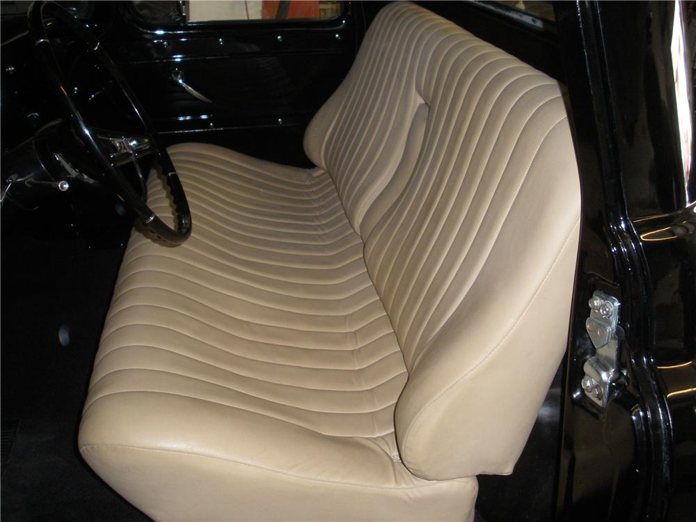 1959 CHEVROLET APACHE CUSTOM SHORT BOX PICKUP - Interior - 93595