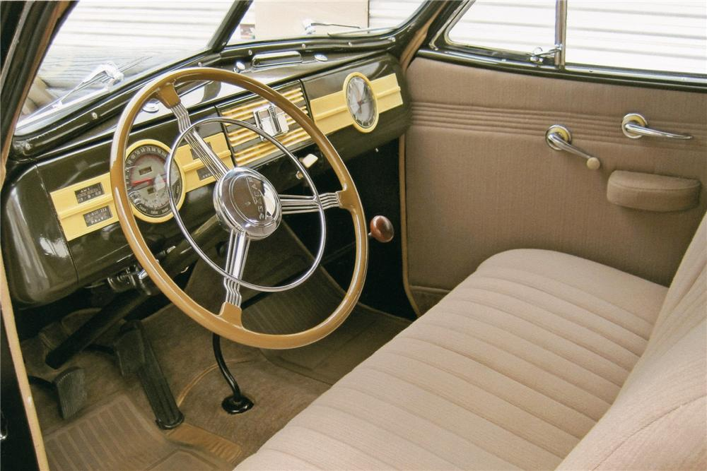 1939 GRAHAM 97 COMBINATION COUPE - Interior - 93605