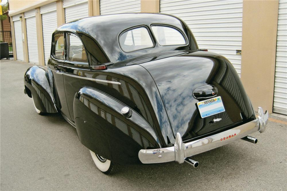 1939 GRAHAM 97 COMBINATION COUPE - Rear 3/4 - 93605
