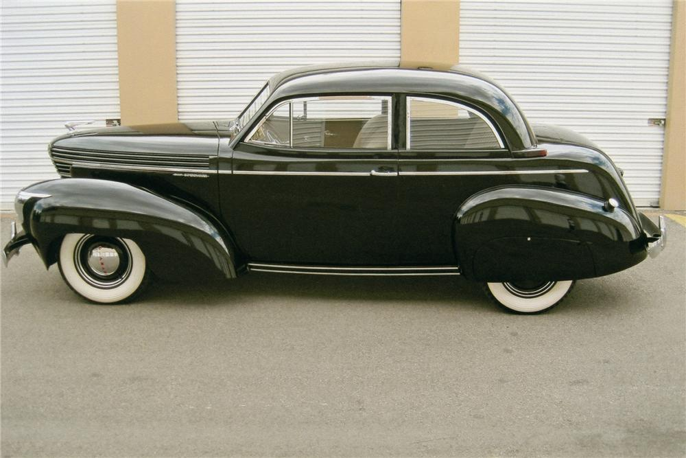 1939 GRAHAM 97 COMBINATION COUPE - Side Profile - 93605