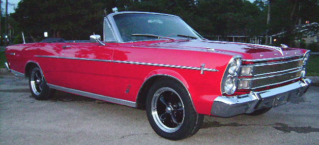 1966 FORD GALAXIE 500 XL CUSTOM CONVERTIBLE - Front 3/4 - 93618