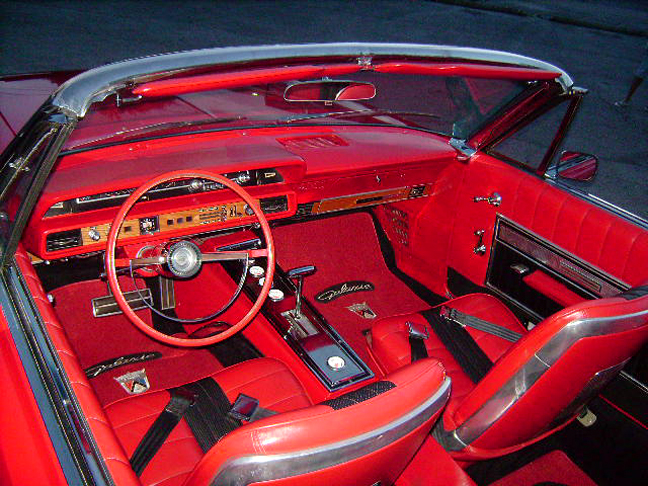 1966 FORD GALAXIE 500 XL CUSTOM CONVERTIBLE - Interior - 93618