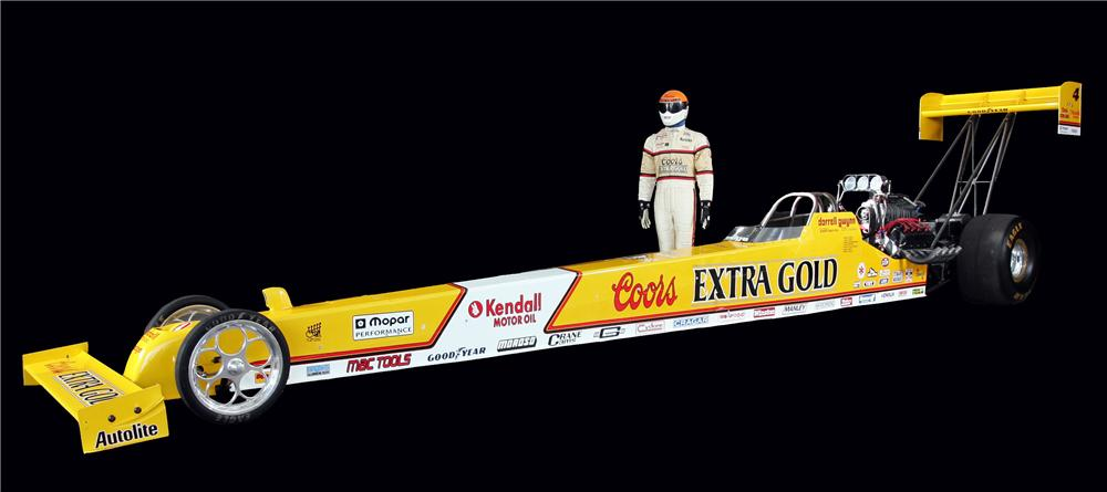 1990 COORS EXTRA GOLD TOP FUEL DRAGSTER REPLICA - Front 3/4 - 93621
