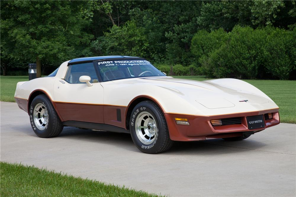 1981 CHEVROLET CORVETTE COUPE - Front 3/4 - 93625
